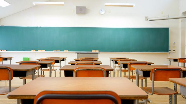 Quality janitorial services create a clean classroom, ready for students
