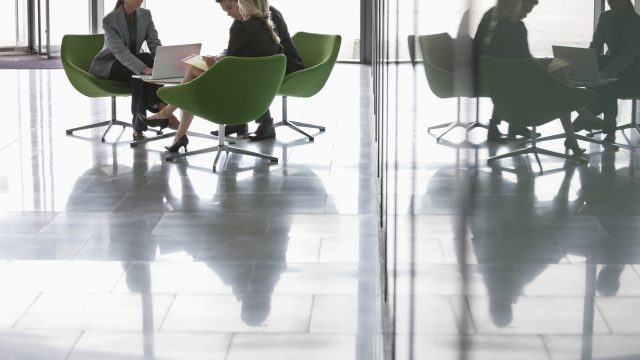 Quality janitorial services help office workers use all parts of the building